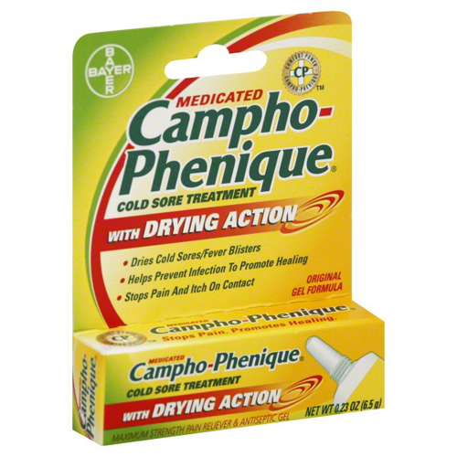 Campho Phenique cold sore treatment