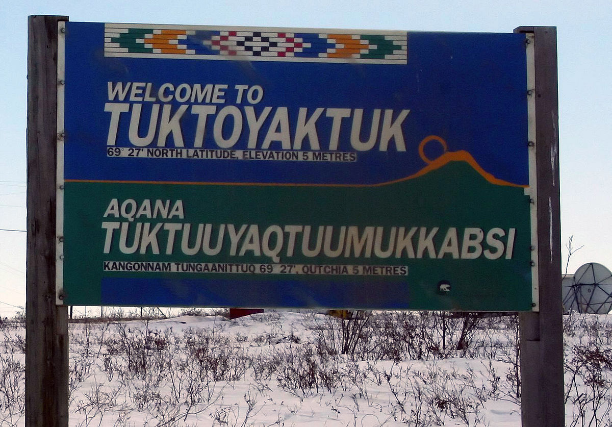 Welcome to Tuktoyaktuk cropped