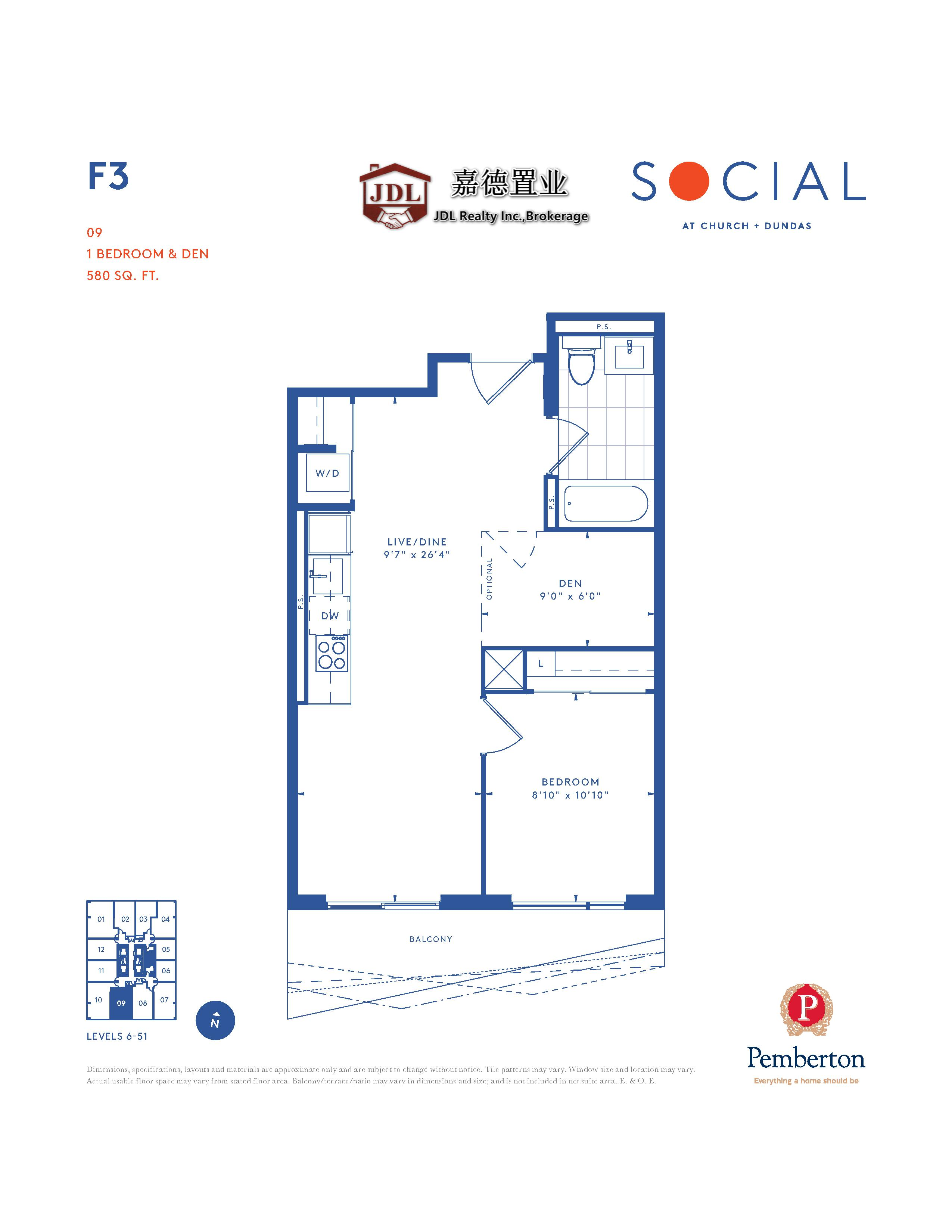 Social Tower floor plan 1 11